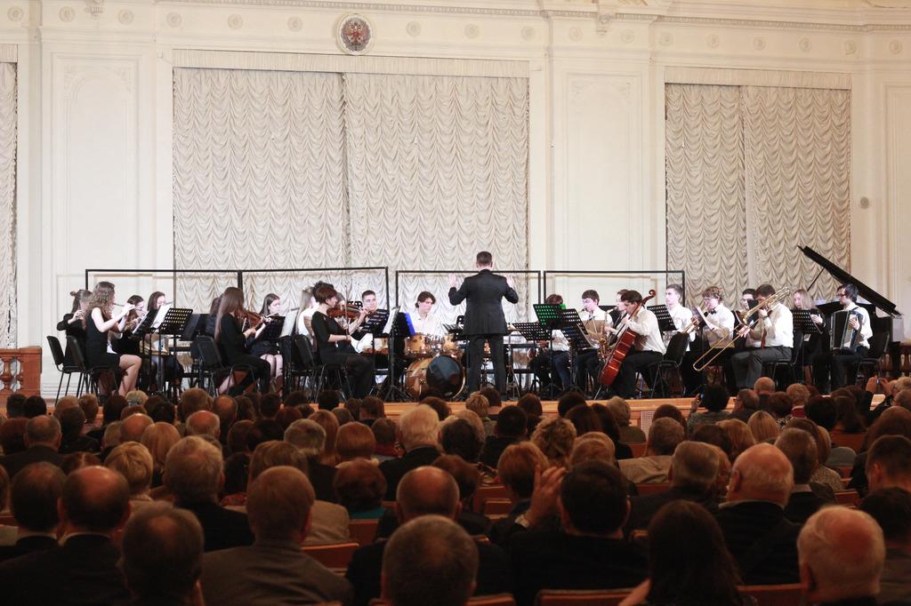 Концерт, посвященный 110-летнему Юбилею машиностроительному отделению ИММиТ