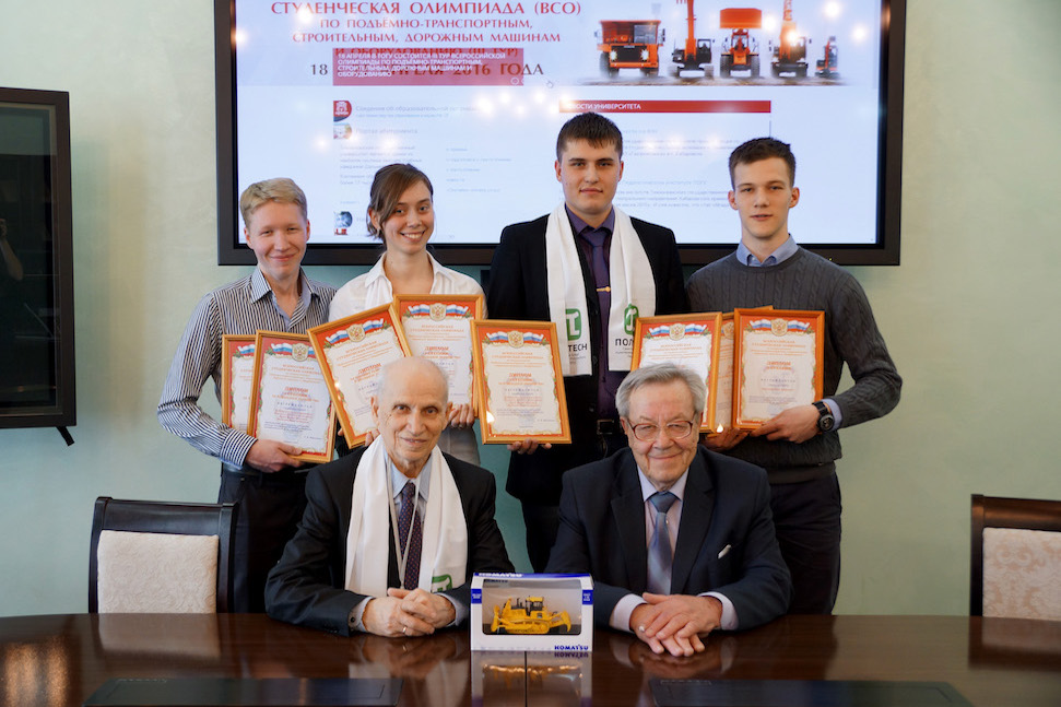 Победа студентов кафедры ТТС во всероссийской Олимпиаде