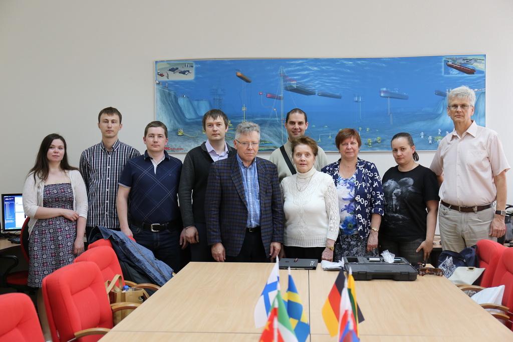 Встреча с литовскими специалистами по трибологии