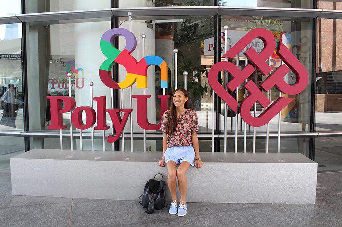 Студентка ИММиТ в Гонконгском Политехе