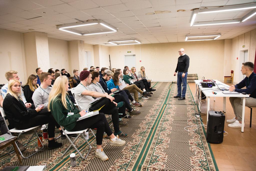 Актив ИММиТ посетил образовательный семинар «Профучеба - 2018»
