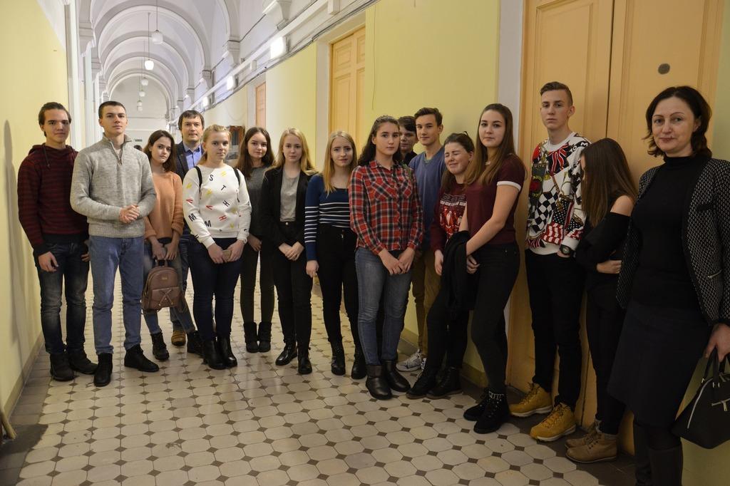 Экскурсия для учащихся из Выборга