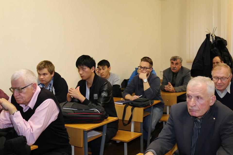 Встреча выпускников кафедры