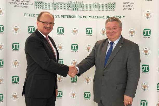 Политех развивает сотрудничество с партнерами из Германии