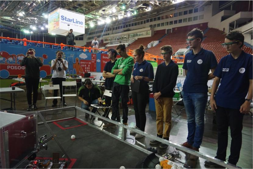 Команда Политеха – победитель турнира по робототехнике
