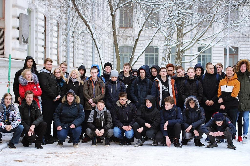 Экскурсия для обучающихся из СПб ГБПОУ «Промышленно-технологический Колледж»