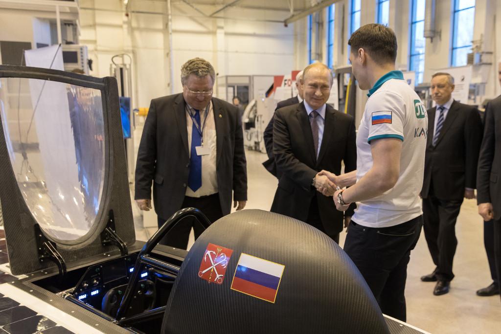 Путин оценил ведущие разработки Петербургского политехнического университета. ФАН