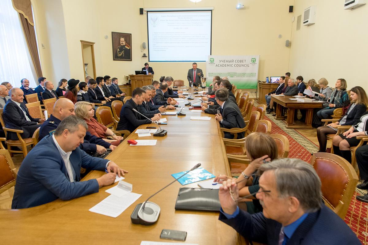 Достижения ИММиТ отметили на ученом совете СПбПУ