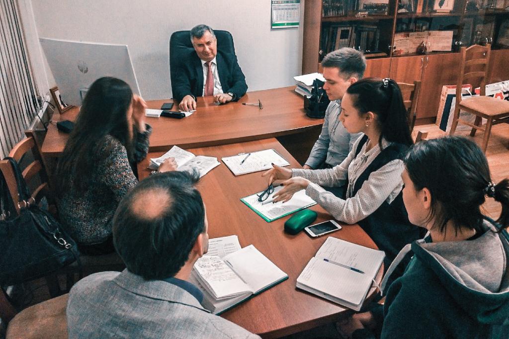 Предновогодняя встреча директора ИММиТ с профбюро студентов