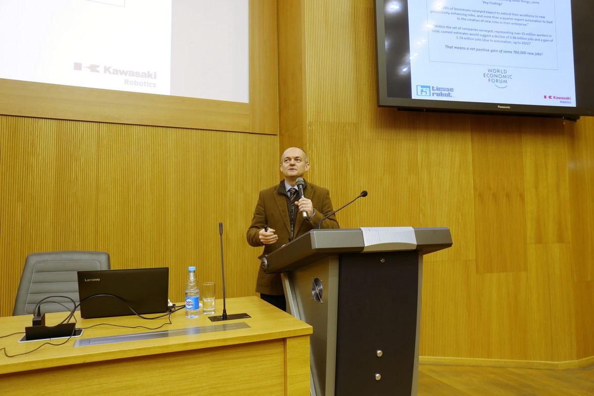 В ИММиТ состоялась открытая лекция Стефано Молинари