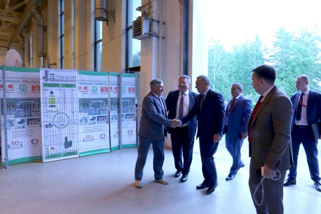 Рабочий визит заместителя Председателя Правительства РФ по вопросам оборонно-промышленного комплекса Юрия БОРИСОВА