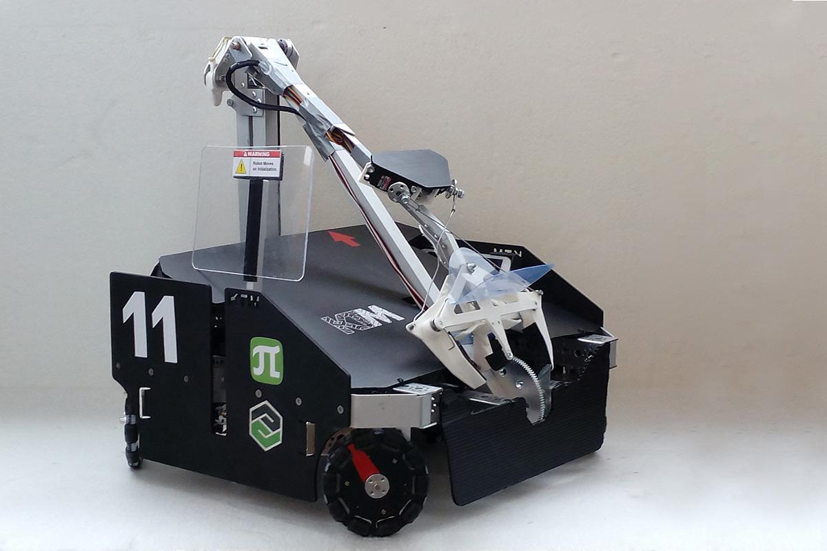 Робот команды «КТМ» был признан лучшим на чемпионате Fest Russia Open 2019