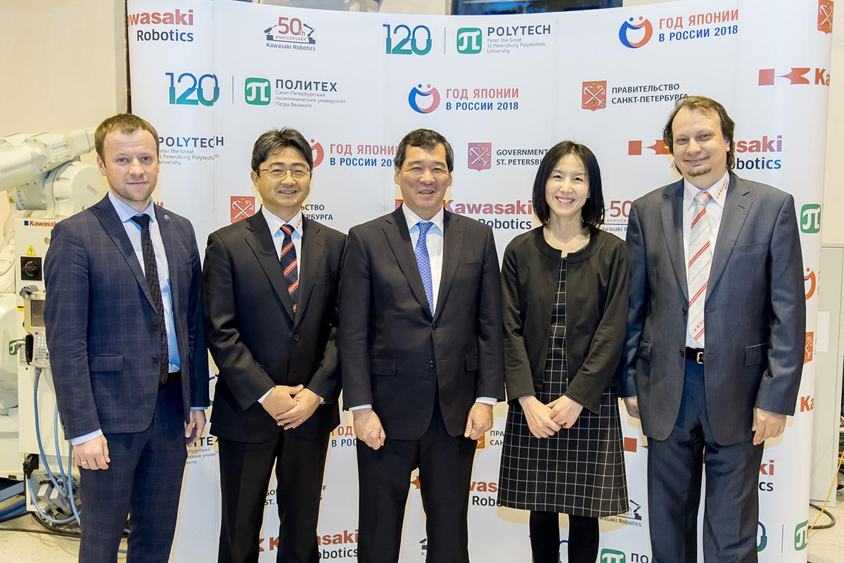 Конференция Kawasaki Robotics прошла в присутствии генконсула Японии в Санкт-Петербурге