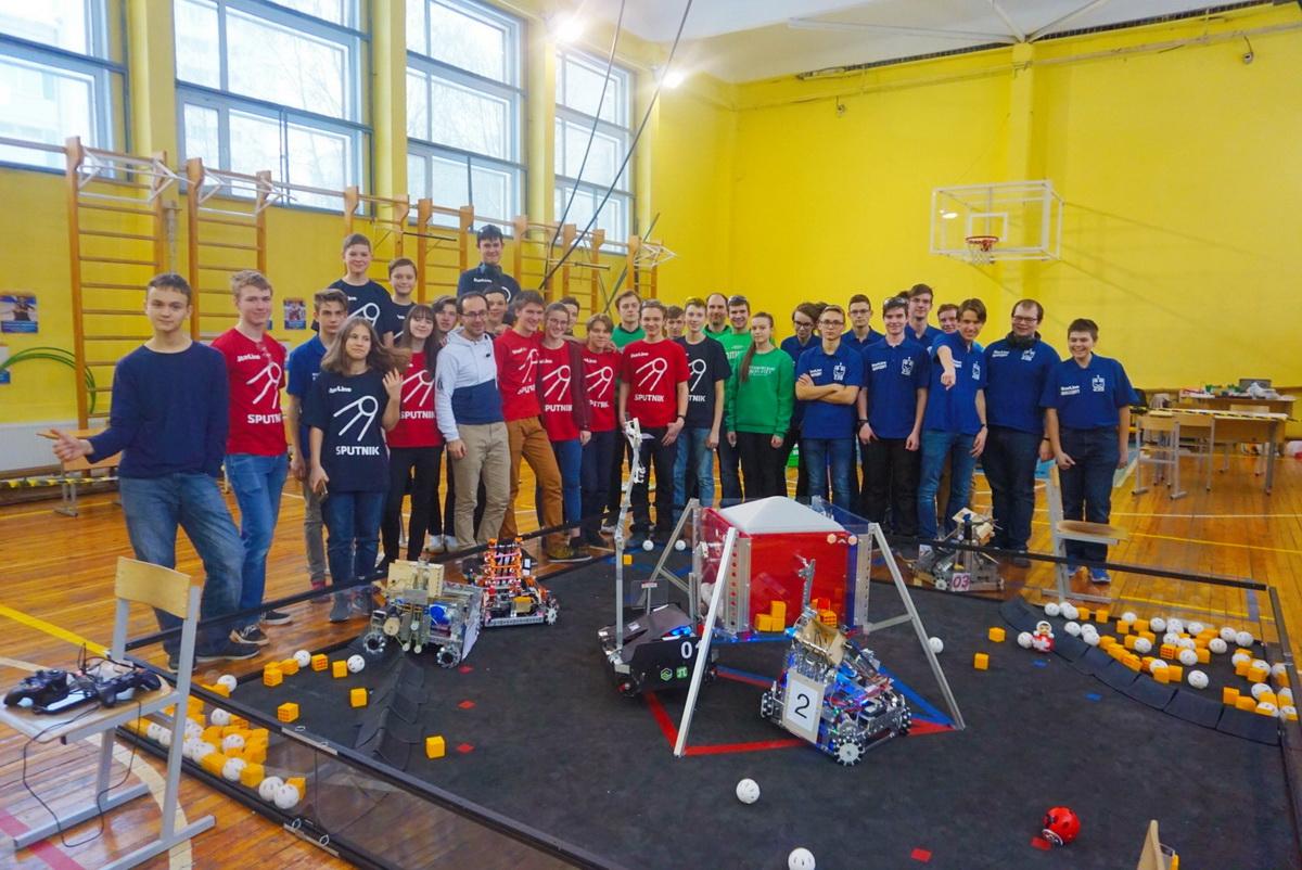 Команда КТМ одержала очередную победу на робототехнических соревнованиях направления FTC в Санкт-Петербурге