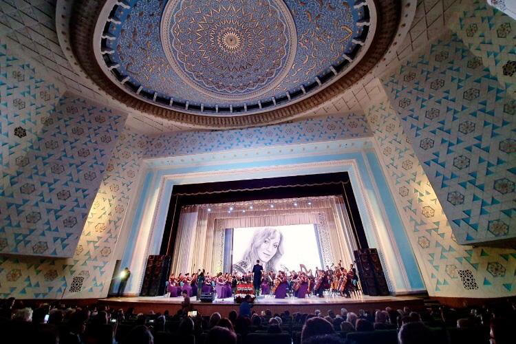 Магистр Политеха представлял Россию на международном концерте песен Анны Герман
