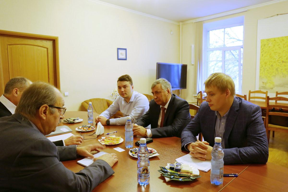 Встреча с делегацией Российского федерального ядерного центра