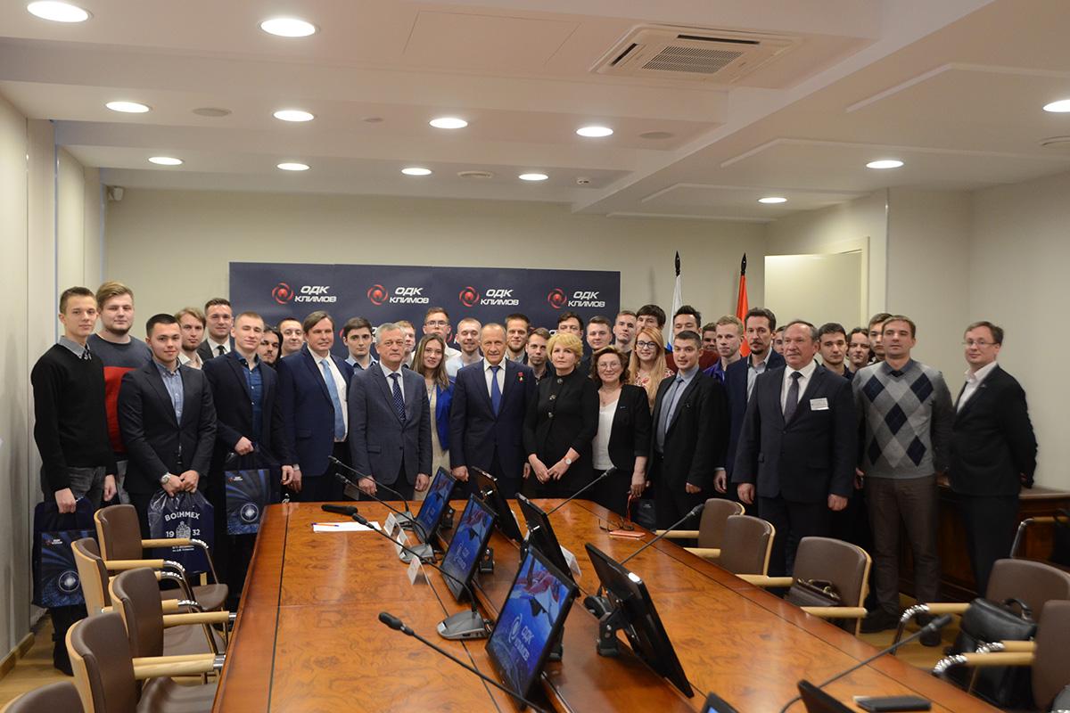 Политехники получили «Климовские» стипендии