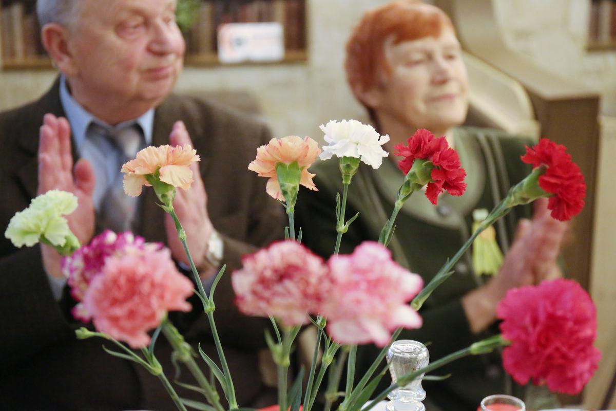 Встреча ветеранов в честь 75-летия со дня освобождения Ленинграда от фашисткой блокады