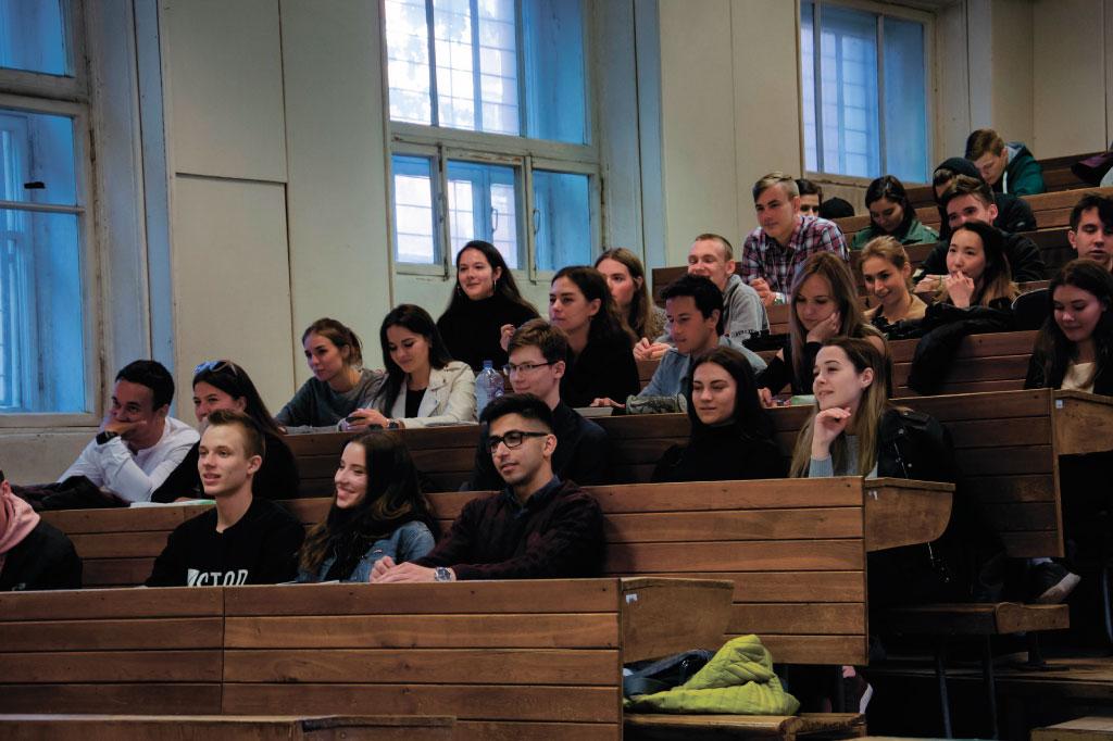 Встреча представителей дирекции со студенческим активом ИММиТ
