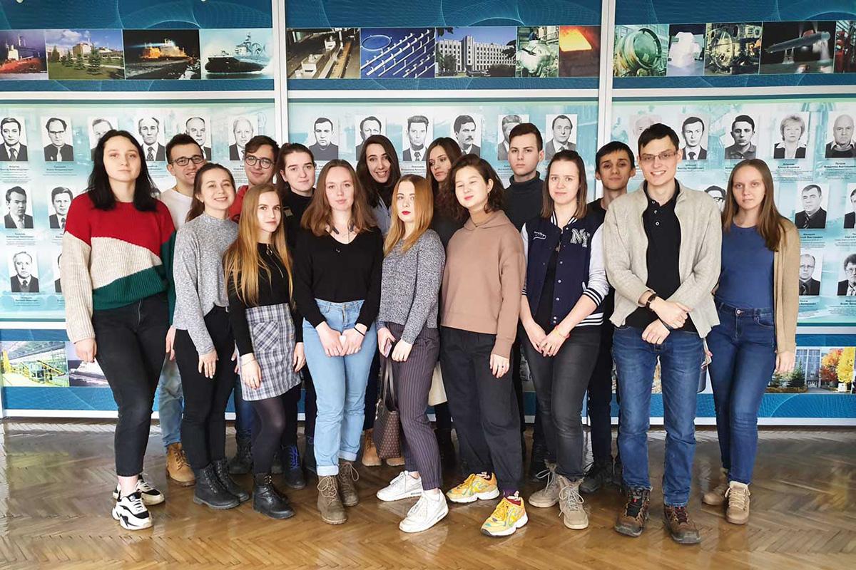 Студенты ИММиТ посетили ЦНИИ КМ «Прометей»