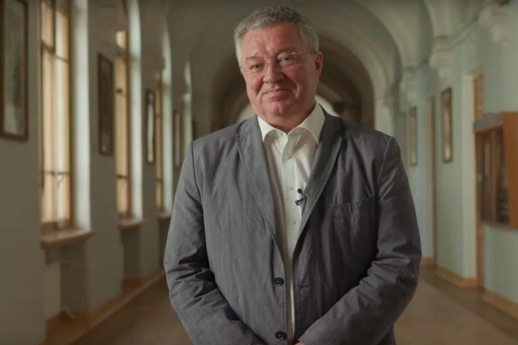 Ректор СПбПУ А.И. Рудской поздравил выпускников 2020