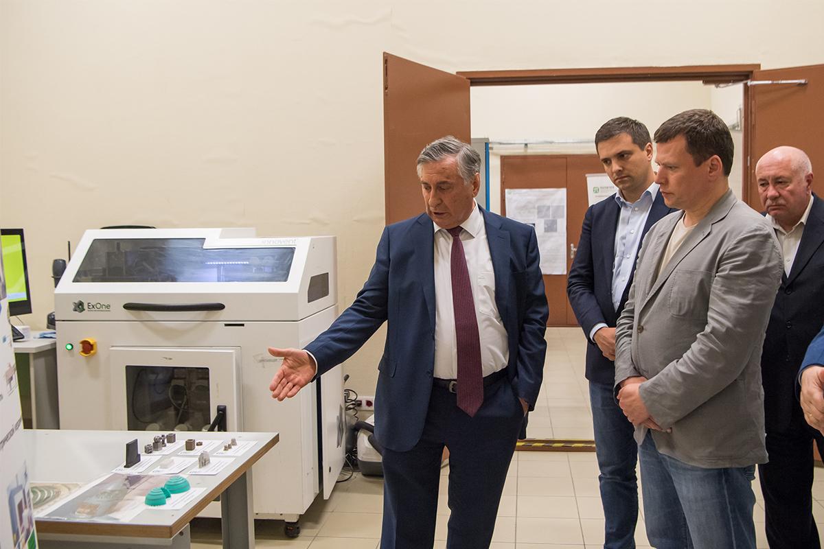 Делегация РОСНАНО в рамках ПМЭФ-2021 посетила СПбПУ