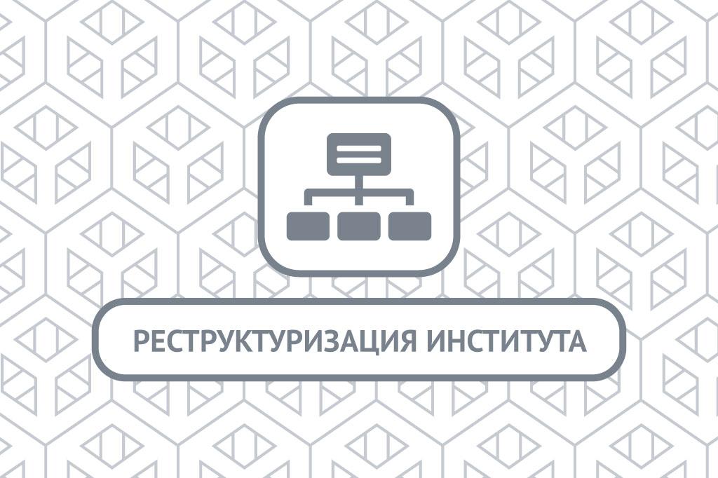 Реструктуризация института